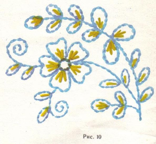 Красивые простые рисунки для вышивки